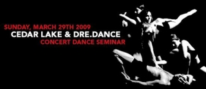 Concert Dance Seminar with Cedar Lake