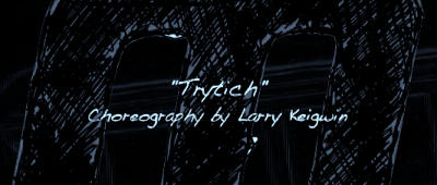 Tryptich? Conversation with Larry Kegwin [Video]