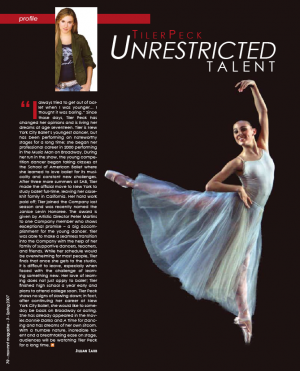 Tiler Peck Unrestricted Talent