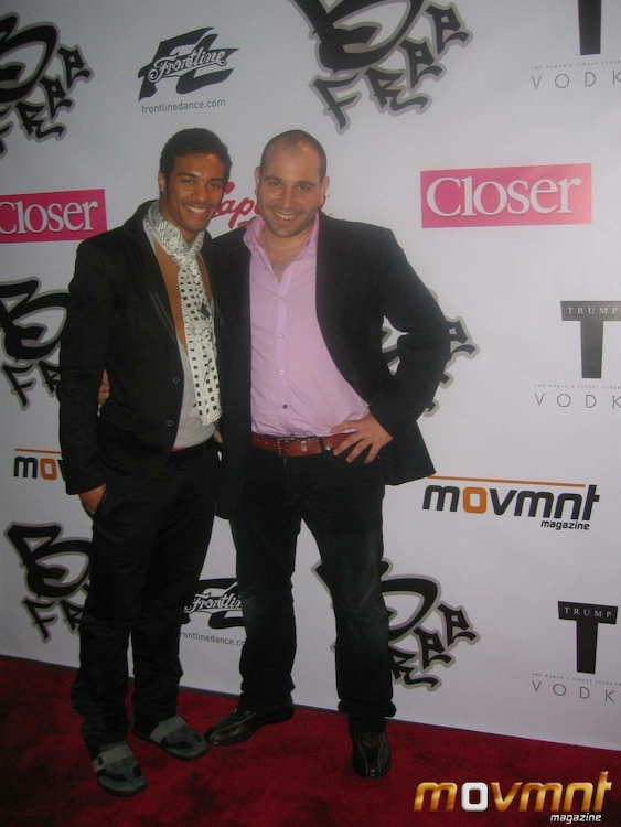 Danny Tidwell and David Benaym - co-founders of movmnt magazine