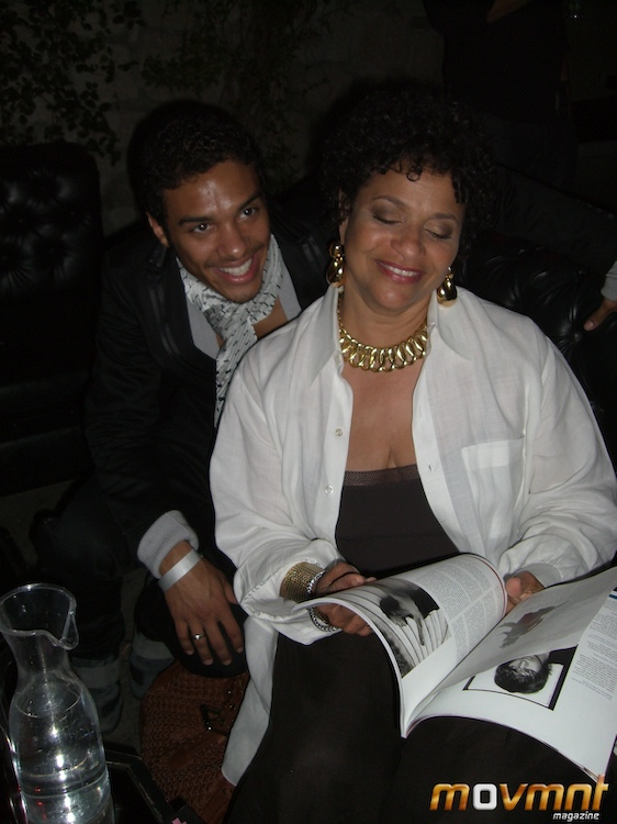 Debbie Allen and Danny Tidwell at Brian Friedman's Party