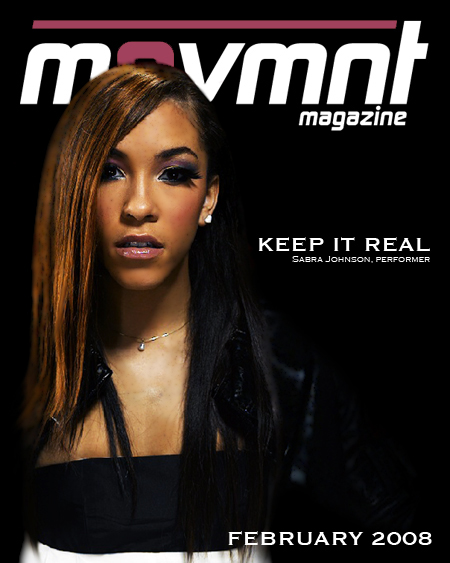 Sabra Johnson Featured In The Movmnt Magazine Teaser For The Winter 2008 Issue