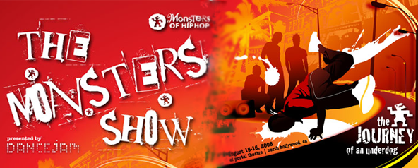 monster hip hop show banner