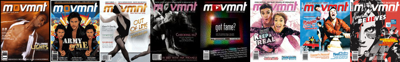 movmnt magazine first 8 covers
