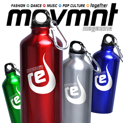 RE: Movmnt's Refillable Trendy Aluminium Bottle